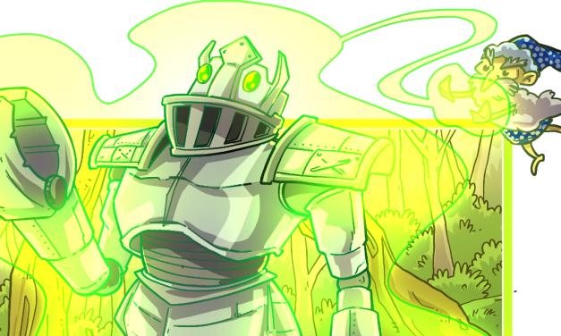 Inktober52 #21: Robot