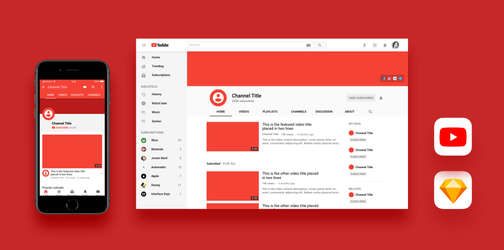 youtube-sketch-template