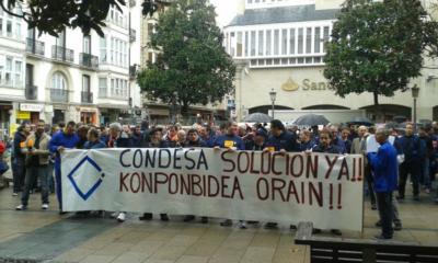 Manifestación grupo Condesa