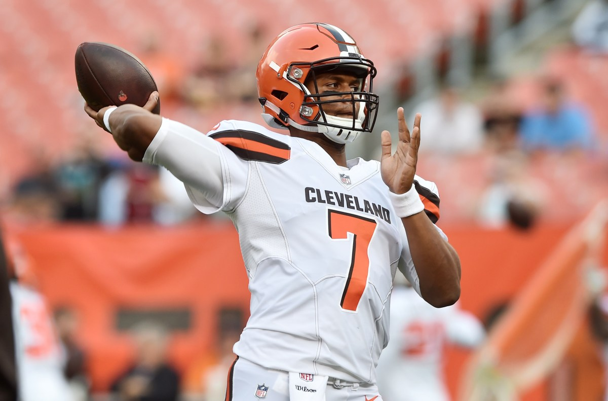 Bumbling Browns will at least be interesting with Kizer