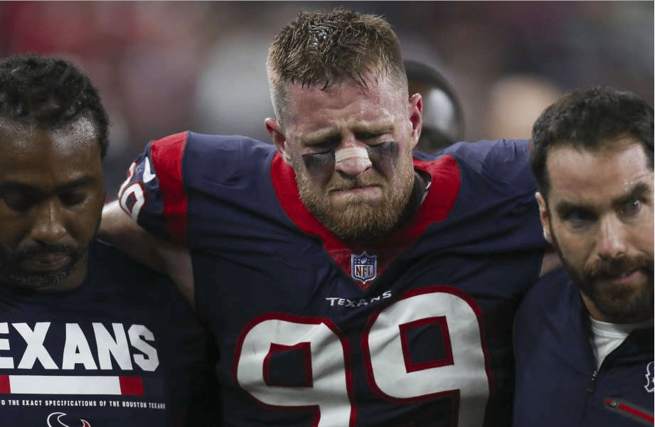 Sadly, Watt's greatness is being lost to injuries