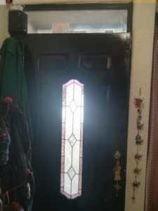 Vitral para puerta