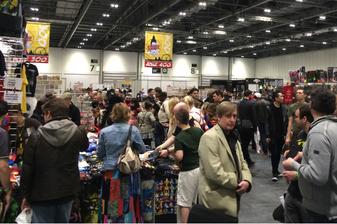 Vitralizado na London Super Comic Convention 2014 – Dia 2