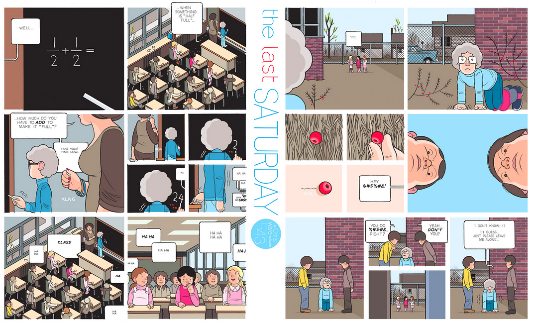The Last Saturday: a HQ do Chris Ware pro Guardian – Parte #44