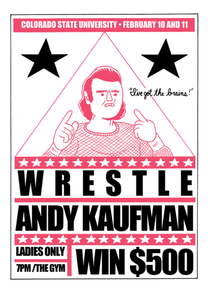 Is This Guy For Real?: a próxima HQ longa de Box Brown será uma biografia do ator Andy Kaufman