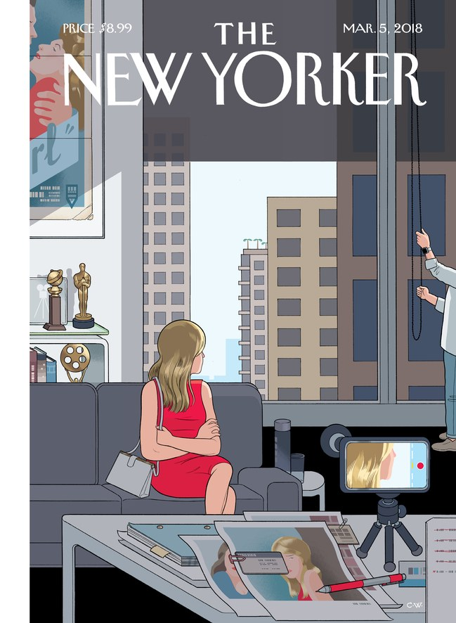 A 24ª capa de Chris Ware para a revista New Yorker