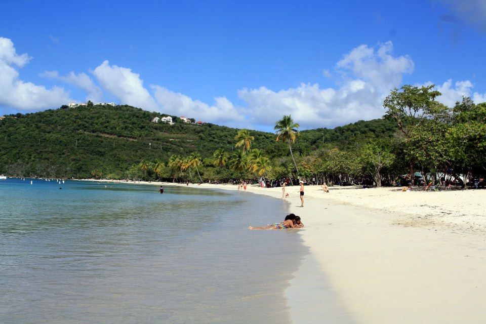 Magens Bay on St Thomas