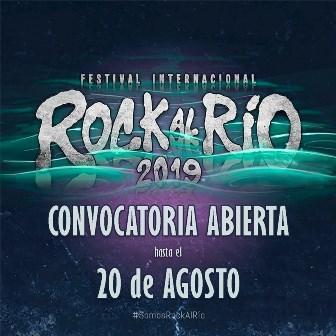 Abierta convocatoria para el Festival Internacional Rock al Rio 2019
