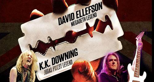 K.K. Downing volverá a tocar canciones de Judas Priest junto a Tim Ripper y David Ellefson