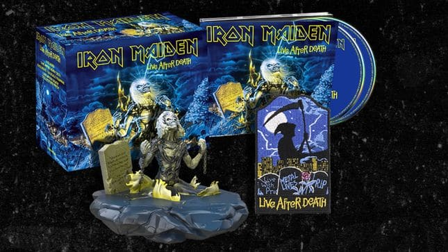 """Iron Maiden reedita sus conciertos """"Live After Death"""" y """"Rock In Rio"""" en digipack"""