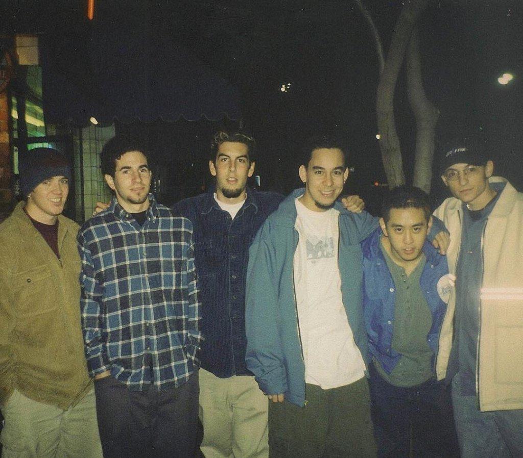 Linkin Park- La primera foto de Linkin Park: Mike Shinoda recordó a Chester Bennington