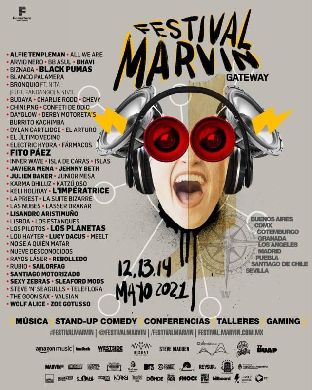 Festival Marvin Gateway Line Up (