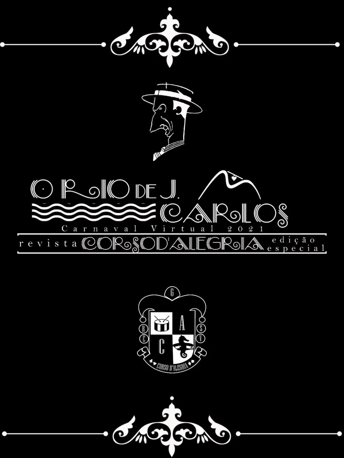 Corso D'Alegria traz o Rio de J. Carlos na Edição Especial do Carnaval Virtual – LIESV
