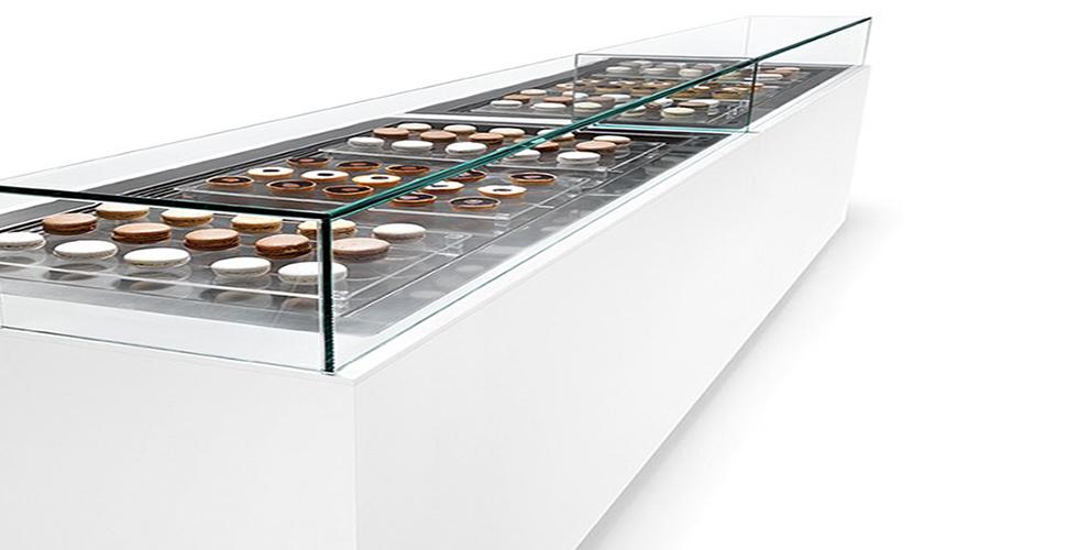 vitrine réfrigérée chocolaterie