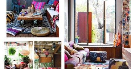 9 cách trang trí theo phong cách Bohemian đúng điệu cho phòng khách