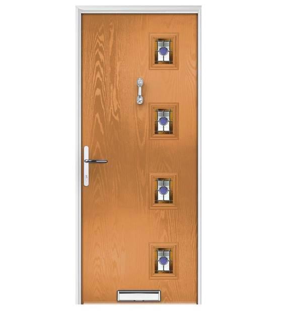 πόρτες εξωτερικές με τζάμι