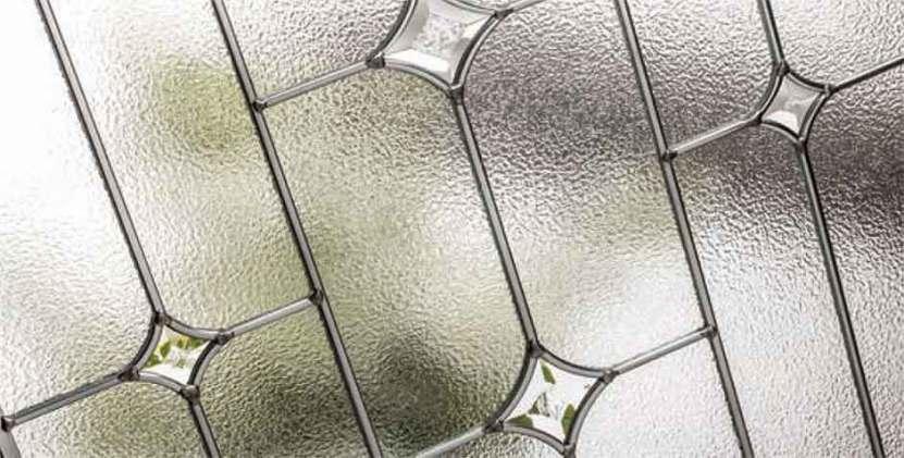 βιτρω σε ξύλινη πόρτα DSG37 | vitro-shop