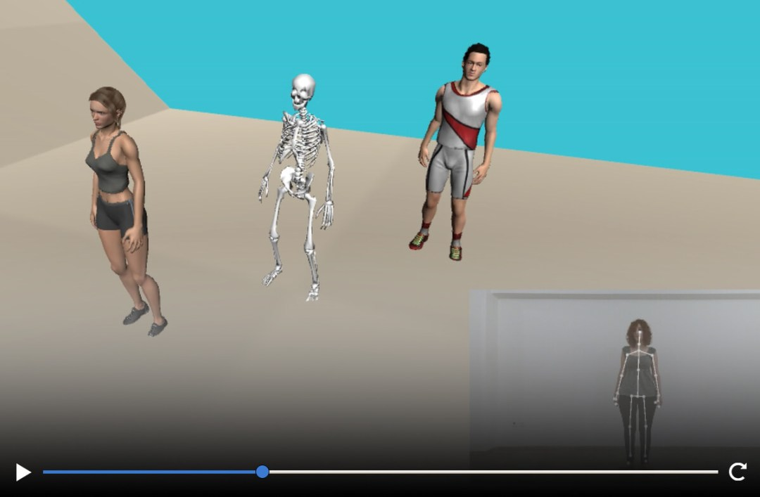 Vitruvius Kinect Video Recording