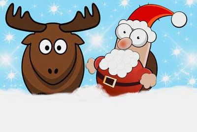 Julevitser - Samling av 34 morsomme vitser om julen