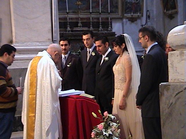 22 Maggio 2004: il matrimonio religioso di Paola e Salvo. (1/4)