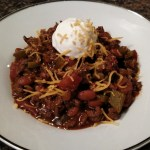 The Most Amazing Deer Chili