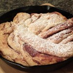 Cinnamon Skillet Bread….a Kitchen Experience