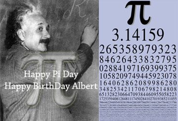 PI Day e compleanno Albert Einstein