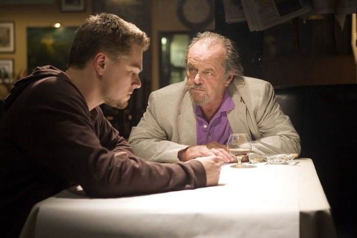 Photo of The Departed,  Leonardo DiCaprio, Jack Nicholson