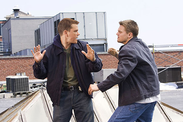 Photo of The Departed,  Matt Damon, Leonardo DiCaprio