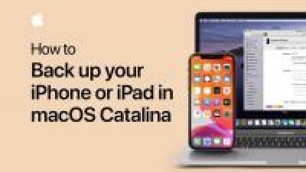 Apple ci mostra come effettuare e ripristinare un Backup di iPhone con macOS Catalina [Video]