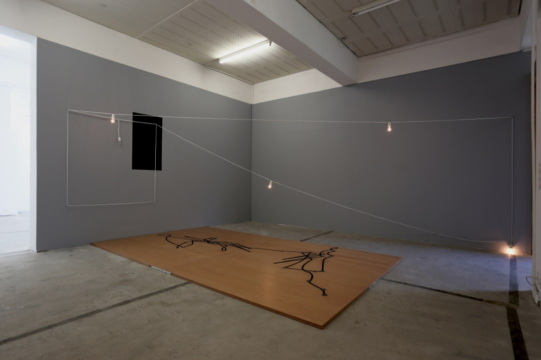 In/Voluntary Movement Diagram (Josef K.) 2013-14 Installation