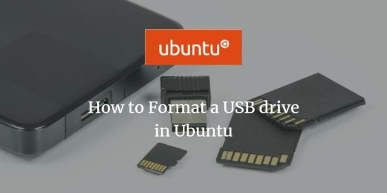 USB Drive Format su Ubuntu