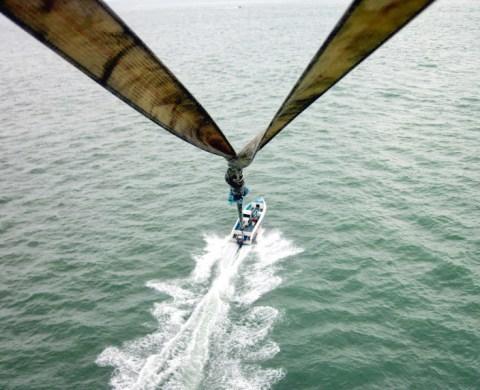 парашют азовское море