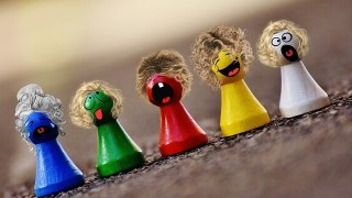 5つの人形