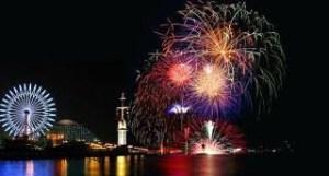 Japan Kobe fireworks