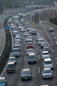 Congestion in Japan
