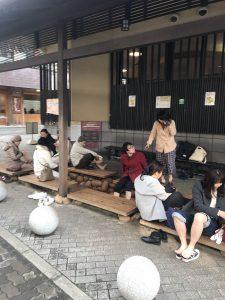 Kansai Arima Onsen footbath
