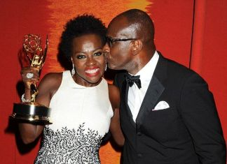 Viola Davis Emmy and Husband Julius Tennon Feature