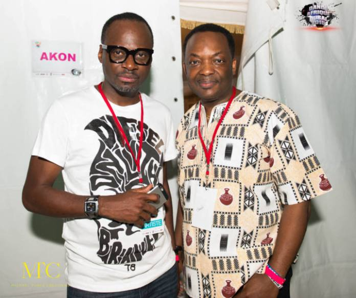 Ayo Shonaiya and DJ Abass