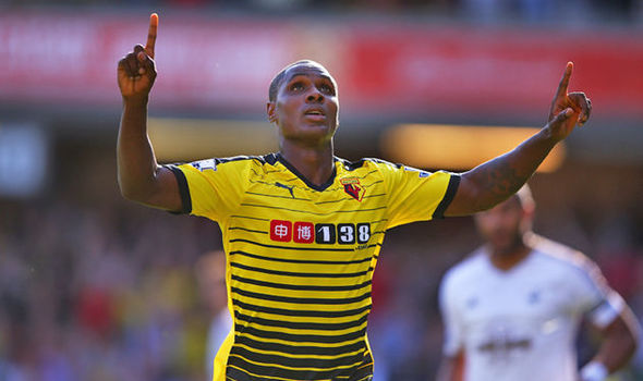 odion ighalo scores for watford