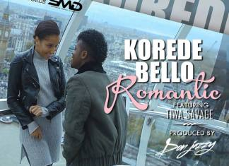 Korede Bello Tiwa Savage YouTube Video Romantic