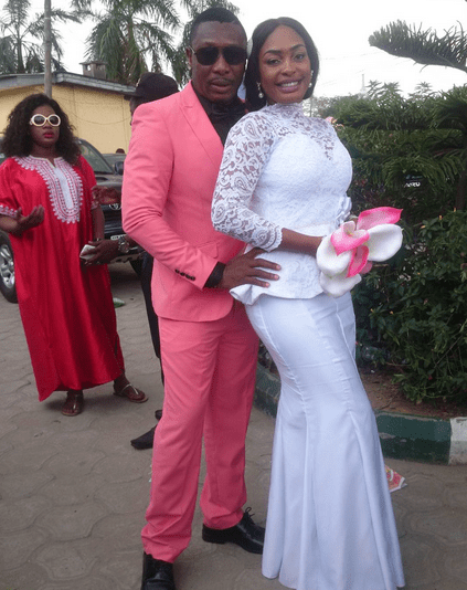 Nuella Njubigbo and Tchidi Chikere Marry Lagos Registry 1