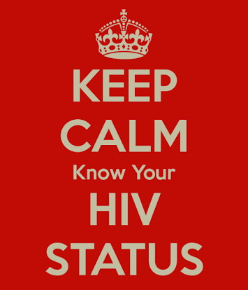 Keep calm and know your HIV status