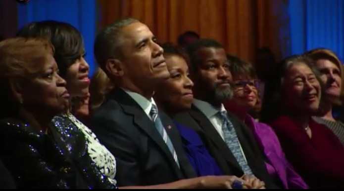 HE-Mrs-Toyin-Saraki-and-Usher-at-White-House-Tribute-To-Ray-Charles-Feature Toyin Saraki Joins Barack and Michelle Obama, Usher, Demi Lovato at White House Tribute to Ray Charles