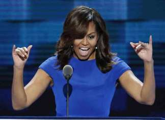 Michelle Obama speech at #DNC2016