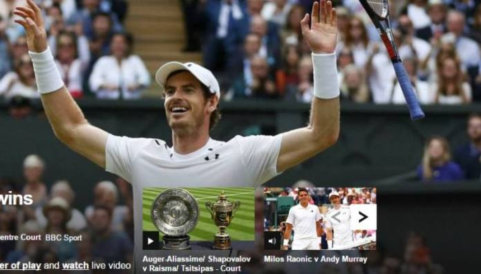 Murray wins Wimbledon