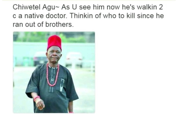 Nollywood Actors and their characteristics - Chiwetel Agu