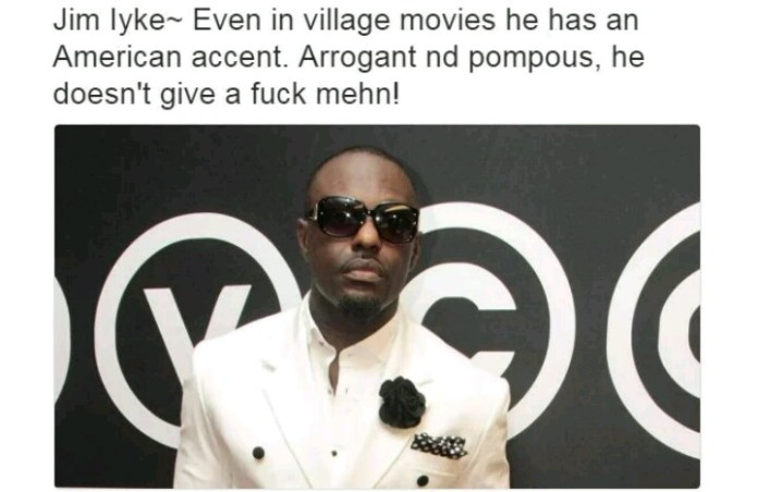 Nollywood Actors and their characteristics - Jim Iyke