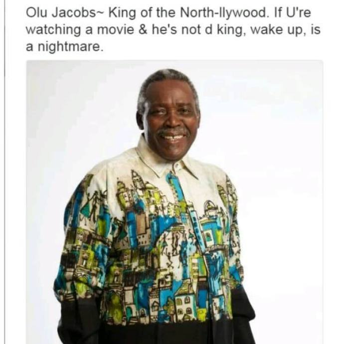 Nollywood Actors and their characteristics - Olu Jacobs