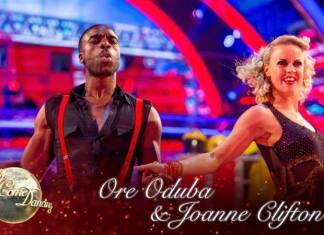 Ore Oduba and Joanna Clifton - Strictly Come Dancing